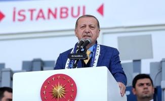 Erdoğan: 'Bizim zorlamayla, baskıyla asla işimiz olmamıştır'