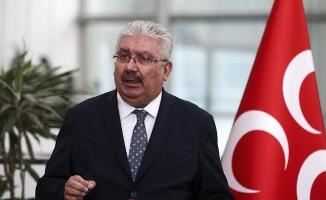 MHP'li Yalçın: CHP; artık ölçüsüzlüğün, hadsizliğin fütursuzca sergilendiği bir parti durumuna gelmiştir