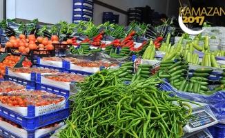 Ramazan öncesi sebze meyve fiyatları düşüyor