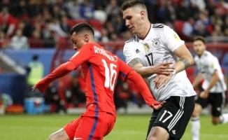 2017 Konfederasyon Kupası'nda Almanya ile Şili 1-1 Berabere Kaldı