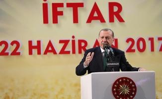 Cumhurbaşkanı Erdoğan: İspatlayamazsanız namustan yoksunsunuz
