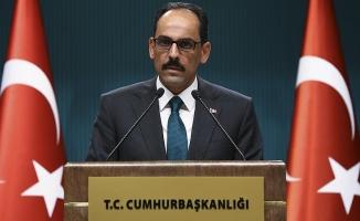 Kalın: Türk Dil Kurumu'na da danıştık