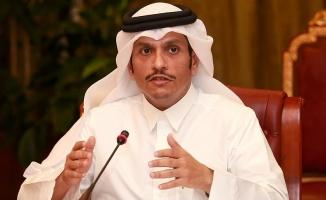 Katar Dışişleri Bakanı Al Sani: Türkiye başından beri diyalog çağrısı yaptı