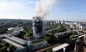 Londra'da 24 katlı binadaki yangının bozuk buzdolabından kaynaklandığı açıklandı