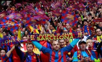 Barselona taraftarlarından Guinness Rekoru