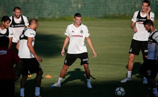 Beşiktaş'ın yeni transferi Pepe takımla ilk antrenmana çıktı