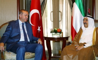 Cumhurbaşkanı Erdoğan'ın ziyaretine Kuveyt medyası yoğun ilgi gösterdi