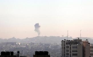 İsrail'den Gazze'ye roketli saldırı