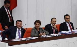 MHP milletvekili, İçtüzük görüşmelerinde komisyonu temsil etti