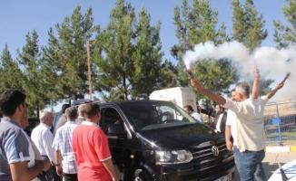 Şanlıurfa'da, yeni Bakan Fakıbaba'ya coşkulu karşılama