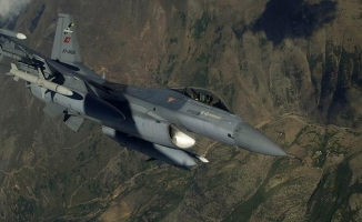 TSK'dan saldırı hazırlığındaki teröristlere hava harekatı