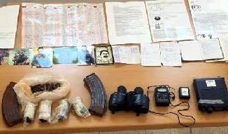 Yayladere'de PKK'ya ait mühimmatlar ele geçirildi