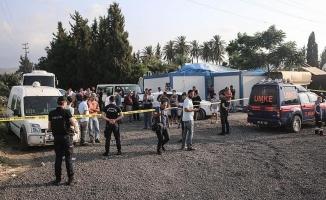 Hatay'da okul inşaatı çöktü: 1 ölü, 3 yaralı