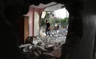 İsrail'in Filistinlilere ait bir evi yıkmasının ardında olay çıktı: 27 yaralı