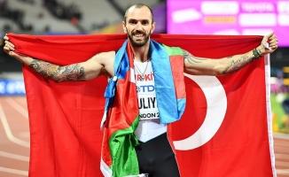 Milli atlet Ramil'den Elmas Ligi'nde 1.'lik geldi