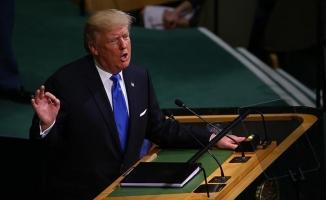 ABD Başkanı Trump, ilk kez BM Genel Kuruluna hitap etti