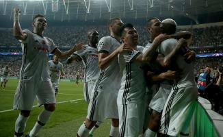 Beşiktaş Şampiyonlar Liginde doludizgin ilerliyor!