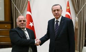 Cumhurbaşkanı Erdoğan, Irak Başbakanı İbadi ile görüştü