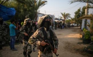 Gazze'deki Nasır Selahaddin Tugayları'ndan tatbikat