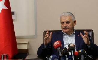Başbakan Yıldırım, Elazığ Valiliği'ni ziyaret etti