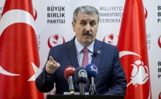 Destici: Afrin harekatına destek vermek Türkiye Cumhuriyeti Devleti vatandaşı olan her kişinin görevidir