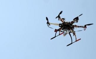 Silvan'da izinsiz uçurulan 'drone' düşürüldü