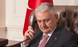 Yıldırım'dan 'Kars-Tiflis-Bakü Demiryolu Hattı' için teşekkür telefonu