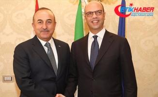 Dışişleri Bakanı Çavuşoğlu, İtalyan mevkidaşı Alfano ile görüştü