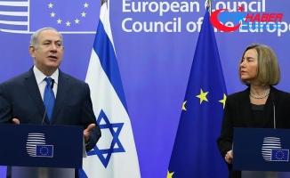 AB Yüksek Temsilcisi Mogherini ile Netanyahu bir araya geldi
