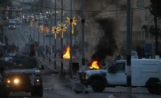 Batı Şeria ve Gazze'deki eylemlere müdahale edildi