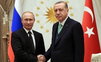 Cumhurbaşkanı Erdoğan: Kudüs konusunda Putin ile benzer yaklaşımlar içerisindeyiz
