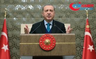 Erdoğan: Faiz artırımı baskısı gayretleri beyhude bir çabadır