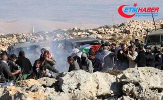 Batı Şeria'daki Kudüs gösterilerinde 11 Filistinli yaralandı