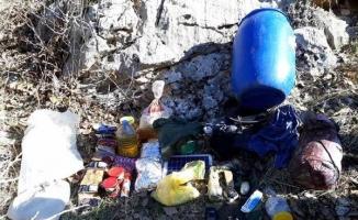 Hasankeyf'te 8 sığınak içerisinde el yapımı patlayıcı bulundu