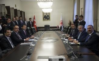 AK Parti-MHP İttifak Komisyonu Mecliste bir araya geldi