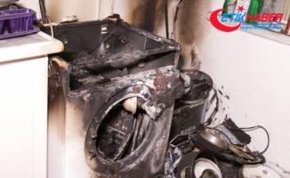 Ankara'da çamaşır makinesi yangın çıkardı: 1 ölü