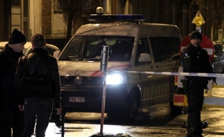 Belçika'da patlama meydana gelen bina yıkıldı