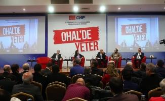 CHP'nin 'OHAL'de Yeter Forumu'nda sonuç bildirgesi yayımlandı