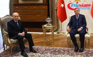 Erdoğan-Bahçeli görüşmesi sonrası ilk açıklamalar
