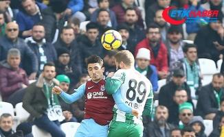 Konyaspor sahasında Trabzonspor ile 2-2 berabere kaldı