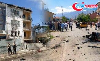 Ovacık'ta adliye lojmanlarına bombalı saldırıyı düzenleyen PKK'lı yakalandı