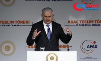 Yıldırım: Türkiye'yi tehdit eden hiçbir oluşum müsamaha ile karşılanmayacak