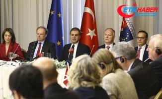 Bakan Çelik AB büyükelçilerine Zeytin Dalı Harekatı'nı anlattı