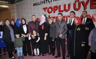Balıkesir MHP'ye 1100 Yeni Üye