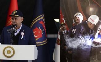 Başbakan Yıldırım'dan, Ege ve Akdeniz uyarısı : Hiç kimse yanlış hesap yapmasın