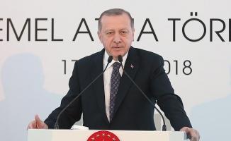 Cumhurbaşkanı Erdoğan: Göz kamaştırıcı bir zenginliğe sahip olduğumuza inanıyorum