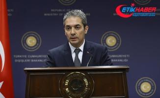 Dışişleri Bakanlığı Sözcüsü Aksoy: ABD ile görüşmelerimiz devam ediyor