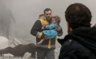 Doğu Guta'da son 3 günde 250'den fazla sivil öldü