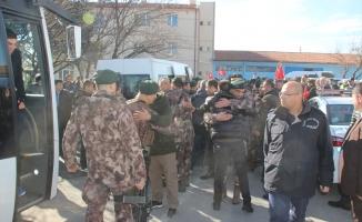 Konya'daki özel harekat polisleri Afrin'e uğurlandı
