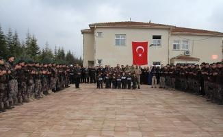 Mersin ve Elazığ'dan PÖH'ler dualarla Afrin'e uğurlandı